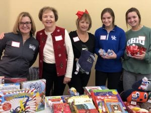 Toy Store Volunteers